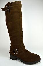 Neu Damen Schuhe Stiefeletten Boots Stiefel Winterstiefel Gr.36-41 Coffee A.5-11