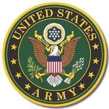US Army USA sticker decal white gloss high grade vinyl
