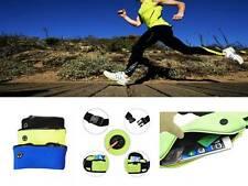 Deportes Unisex Cintura Cinturón Riñonera Jogging Correr Bolsa De Viaje Llave Móvil Dinero
