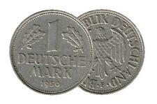 1 marcos alemanes (1950 cazadores: 385) VZ-prägestätte su elección