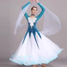 2018 NEW Latin Ballroom Dance Dress Salsa Modern Waltz Tango Dress #S7017