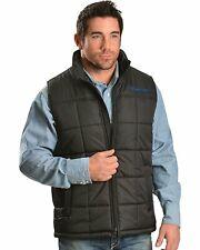 Ariat Men's Crius Vest, Black or Red Madder
