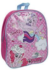 My Little Pony Flashing Light Up Backpack MLP LED Shoulder School Bag Travel