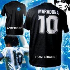 T-SHIRT MARADONA felpa calcio maglietta polo maglia napoli trikot 2013 Hamsik NE