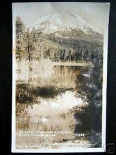 Manzanita Lake, CA~1939 MT. LASSEN~ Eastman RPPC