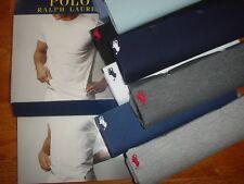 1 Polo Ralph Lauren Mens Crew Neck T shirt Classic Fit 100% Cotton S M L XL New
