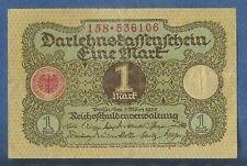 BANCONOTA 1 MARCO  BERLINO REICH 1920  CIRCOLATA MA MOLTO BELLA  BELLA