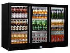 3 Door Under Bench Cooler Mini Bar Fridge Back Bar Cooler Display Fridge 860MM H