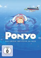 Ponyo - Das große Abenteuer am Meer - DVD - *NEU*