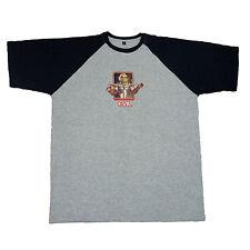 Thunderbirds officiel Evil T-shirt de baseball Scott Tracy Alan Parker cerveau 9 C