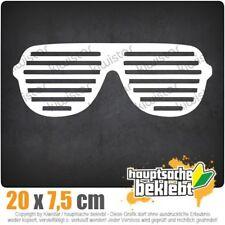 Raver Shutter Brille csf0324 20 x 8 cm JDM  Sticker Aufkleber