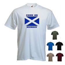 'Come on Murray' Wimbledon Tennis Andy Murray T-shirt Tee