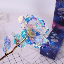 LED Light 24K Gold foil Rose Flower Valentine's Day Lovers' Gift Romantic Day AU