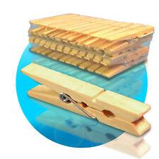 Holzwäscheklammer Wäscheklammern aus Holz Klammern Wäsche XL 7,5 cm Wäsche