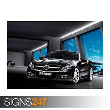 BRABUS MERCEDES SL CLASS (0792) Car Poster - Photo Poster Print Art * All Sizes