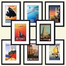 Vintage Viaggio Poster riproduzione Stampa Dimensione A3 e A4