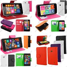 Housse Etui Coque Portefeuille Simili Cuir Nokia Serie Lumia 930 630 530 520