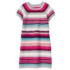 NWT Gymboree Ready Jet Go Fuzzy Sweater Dress Girls 7 8