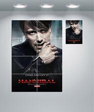Hannibal TV Show Gigante Pared arte cartel impresión