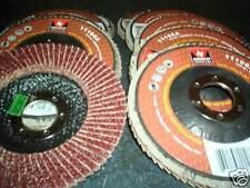 "New listing 10 Neiko Tools Usa 4-1/2"" Sanding Grinding Flap Disc 60-Grit Aluminum Oxide #27"