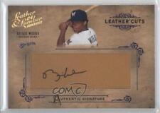 2004 Donruss Leather & Lumber Cuts Glove #LC-33 Rickie Weeks Auto Baseball Card