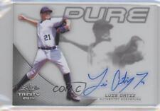 2014 Leaf Trinity Pure Autographs #P-LO1 Luis Ortiz Auto Baseball Card