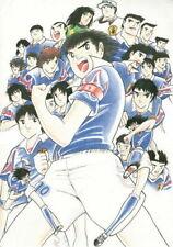 158040 Captain Tsubasa Nipon Football World Cup Wall Print Poster CA