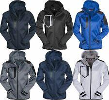 giacca soft shell impermeabile traspirante termica donna con cappuccio alpinismo