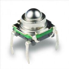 Mikro Druck Taster rund, nur 200gf, C&K KSJ0M211 (Tactile Switch Round Actuator)