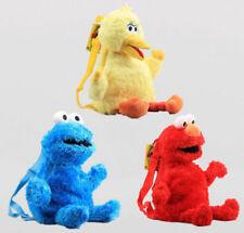 Rucksack Sesamstraße Cookie Monster Krümelmonster Plüschfigur Sesame Street 2017