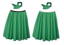 """22 """"Verde Smeraldo Rock & Roll Gon na con elastico in vita + Cravatta"""