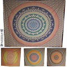 Chakra Mandala Tagesdecke Wandbehang couvre lit indien Inde Yoga Backdrop goa