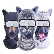 3D Animal Outdoor  Cycling Ski  Hat Balaclava printing Cat Dog Full Face Mask