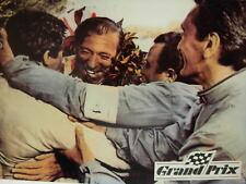 Grand Prix Film Frankenheimer Original Movie Lobby Card 3 / Sarti Ferrari Monaco