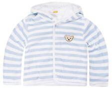 STEIFF® Baby Nicky Jacke Jäckchen Nicki Hellblau Ringel 62-86 0002857 Basic NEU