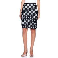 Byron by Byron Lars Contrast Lace Skirt 305763-J