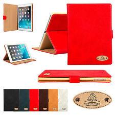 Apple iPad all Generation Premium Luxury Genuine Leather Case Designer Cover New