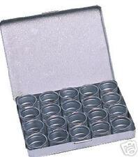 Contenitore porta fornitura orologi movimenti alluminio 20 scatoline