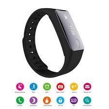 Bluetooth 4.0 Smart Watch Wristband Health Bracelet Sport Sleep Fitness Tracker