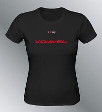 Tee shirt personnalise XDiavel S M L XL femme moto X-Diavel
