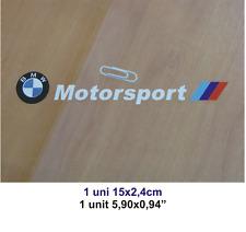ADHESIVO PEGATINA STICKER DECAL AUFKLEBER AUTOCOLLANT BMW MOTORSPORT