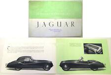 Jaguar XK 120 Convertible 1953-54 Original UK Sales Brochure