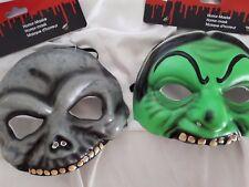 Halbmaske Totenkopfmaske / Hexenmaske Halloweenmaske Horrormaske 129228313