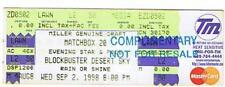 MATCHBOX 20 UNUSED CONCERT TICKET PHOENIX AZ 9-2-1998