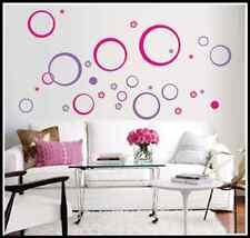 Creative Circle Vinyl ART Decal Wall Sticker Home Decor Wardrobe/Bedroom/window