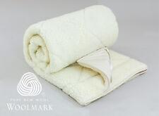 QB KB DB KSB SB Australian Wool Underlay/Underblanket 1000GSM Woolmark Certified