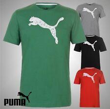 Mens Genuine Puma Lightweight Casual Big Cat QT T Shirt Top Size S M L XL XXL