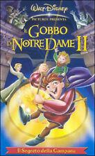 IL GOBBO DI NOTRE DAME 2 film Disney Vhs video offerta rara per idea regalo 2018