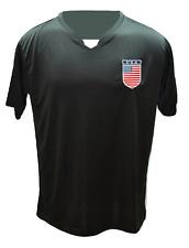 USA Soccer Team Shield Logo Performance Microfiber Short Sleeve Soccer Jersey