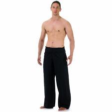 Unisex Thai Fisherman Pants Hippie Yoga Hose Wickelhose Fischerhose Baumwolle